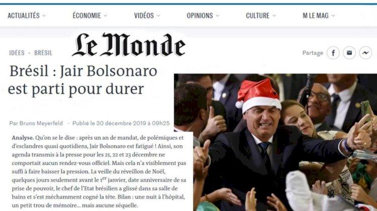 """'Le Monde': """"Bolsonaro, Oficial subalterno excluído do exército, deputado ultramarginal de extrema direita"""