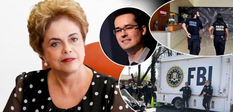 Dilma denuncia crime de traição nacional cometido pela Lava Jato, após revelação de trabalho de Dallagnol para os Estados Unidos