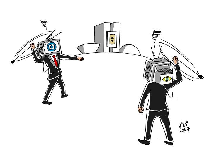 O monopólio de imprensa e sua hipócrita 'defesa da democracia'
