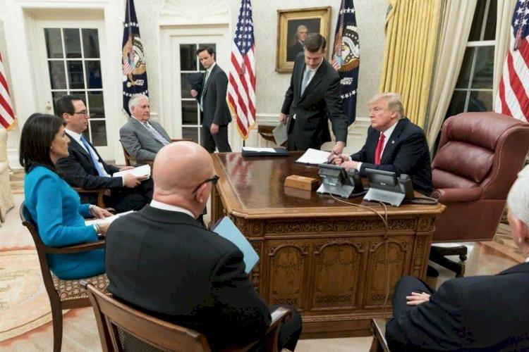 Trump diz que aceitaria se encontrar com Nicolás Maduro