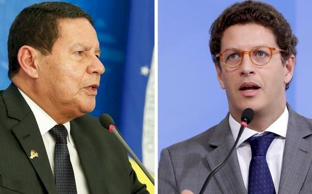 Bolsonaro transformou Mourão em guardião de luxo de Ricardo Salles