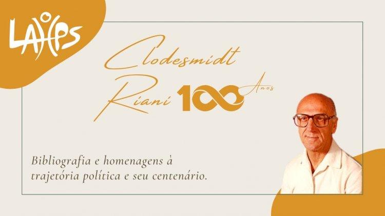 VÍDEO: Clodesmidt Riani faz 100 anos! Biografia e homenagens