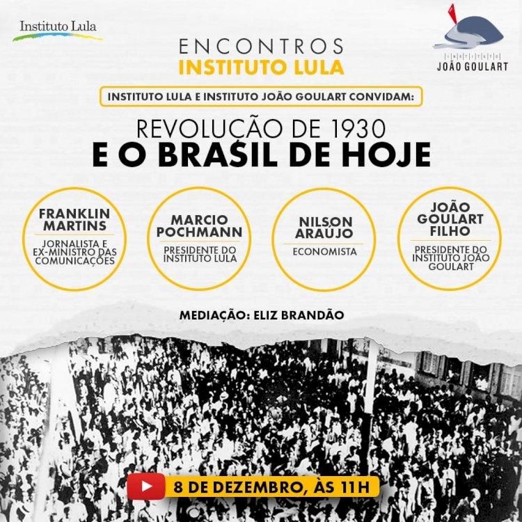 PRIMEIRO ENCONTRO HISTÓRICO DO INSTITUTO LULA E INSTITUTO JOÃO GOULART.