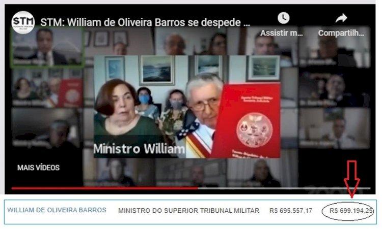 Ministros militares receberam mais de R$ 600 mil reais em licença prêmio em 2020