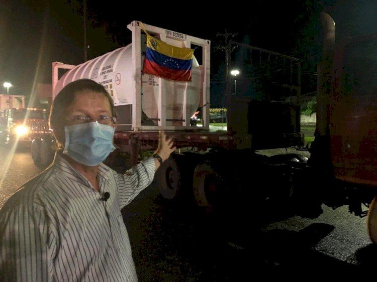 Venezuela e Brasil negociam o envio de oxigênio a Manaus a cada sete dias