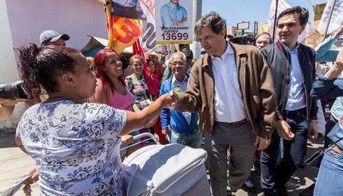 Haddad coloca o bloco na rua e lança sua candidatura à presidência da República