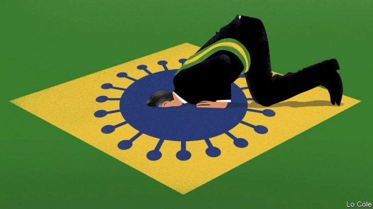 """Novo recorde da Covid: """"gripezinha"""" de Bolsonaro mata mais 3.650 brasileiros em 24 horas"""