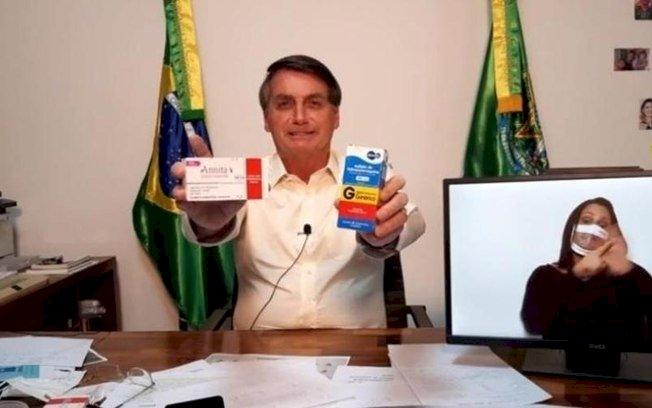 Após instalação da CPI do Genocídio, Bolsonaro não para de postar sobre Covid e vacinação