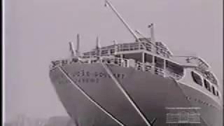 Vìdeo de entrega do navio petroleiro JOÃO GOULART- 1963