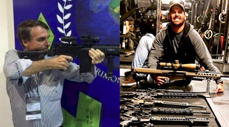 Em manifestação, Bolsonaro diz estar legalizando cada vez mais as armas