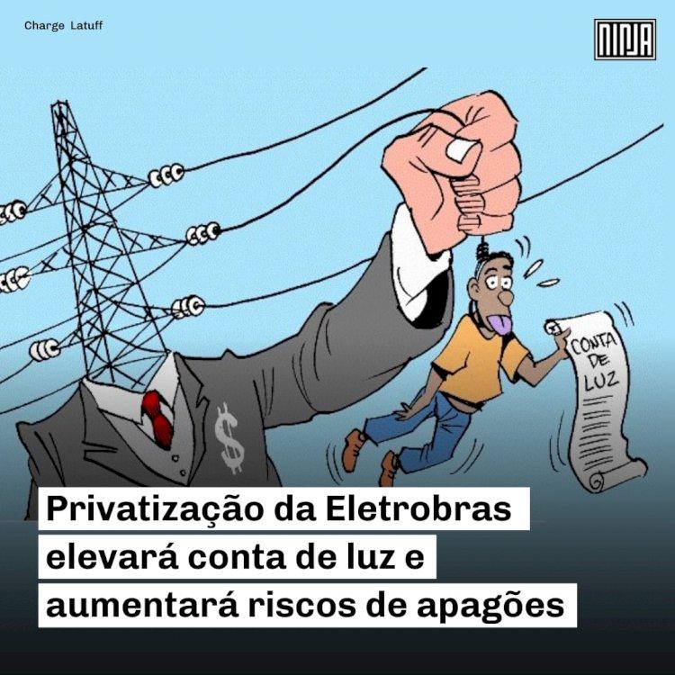 A greve contra a privatização da Eletrobrás