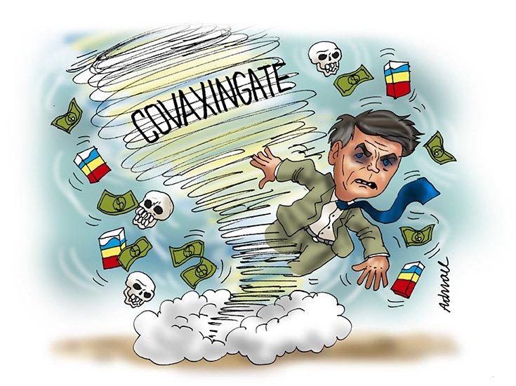 Barros armou golpe da Covaxin e Bolsonaro retribuiu nomeando sua mulher para Itaipu