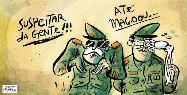 A santidade profanada dos militares