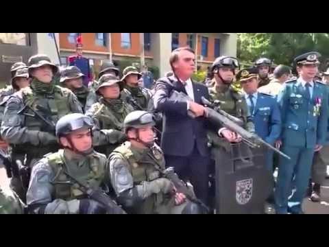 Brasil de Bolsonaro: quantidade de armas com civis dobra em três anos
