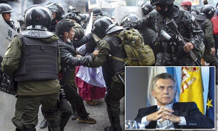 En Bolivia encontraron armamento que envió Mauricio Macri en apoyo al golpe contra Evo Morales