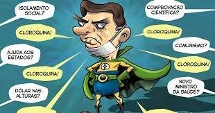 """Capitão Cloroquina diz que não coordenou combate à Covid-19 porque """"não deixaram"""""""