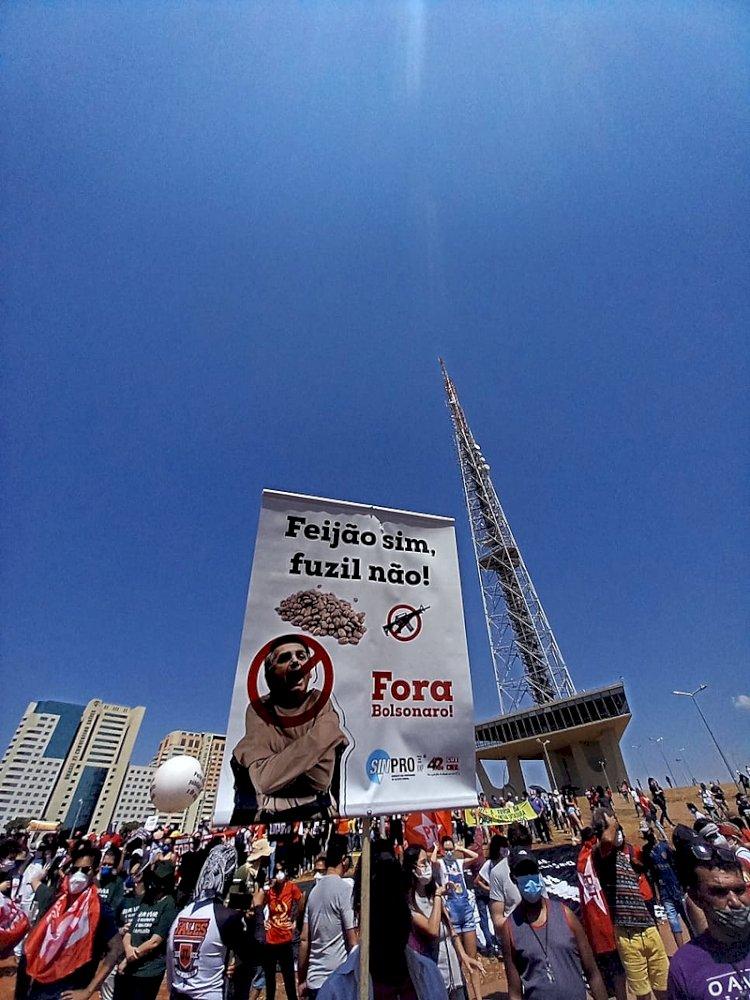 """""""Fora, Bolsonaro"""" e Grito dos Excluídos mobilizam 200 cidades contra a fome e pela democracia"""