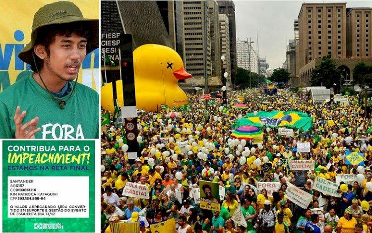 Ato do MBL atrai parte da esquerda contra Bolsonaro, mas PT fica de fora